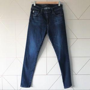 AG Farrah High Rise Skinny Ankle Jeans